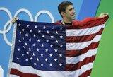 M.Phelpsas su olimpinėmis žaidynėmis atsisveikino aukso medaliu