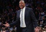 """""""Clippers"""" treneris – ant karštosios kėdės"""