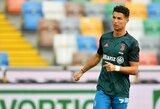 """""""Atalanta"""" saugas: """"C.Ronaldo – kaip Kenas, Barbės vaikinas"""""""