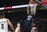 """Trileris Portlande baigėsi """"Pelicans"""" pergale"""