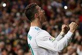 """Pele sureagavo į C.Ronaldo perėjimą į """"Juventus"""": """"Tikri čempionai visuomet nori naujų iššūkių"""""""