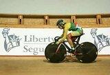 Pasaulio jaunių čempionato sprinte dviratininkė V.Šumskytė neatsilaikė prieš rekordą pagerinusią favoritę