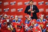 Rusijos ledo ritulio rinktinė Euroturo turnyro starte įveikė švedus