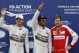 Problemų su stabdžiais turėjęs N.Rosbergas pripažino L.Hamiltono pranašumą Monako GP kvalifikacijoje
