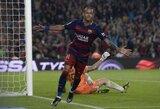 """""""Barcelona"""" klubui pergalę užtikrino Neymaro """"pokeris"""""""