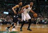 "Įspūdingame trileryje ""Celtics"" po pratęsimo nukovė ""Bucks"""