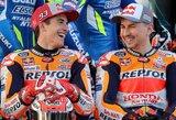 Dar viena M.Marquezo pergalė pažymėjo triskart pasaulio čempiono karjeros pabaigą