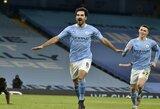 """I.Gundogano dublis paženklintas triuškinama """"Man City"""" pergale prieš """"Tottenham"""""""