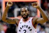 """Raptors"" dramatiškai iškovojo pergalę"