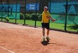 Lietuvos jauniai skina pergales tarptautiniame teniso turnyre Šiauliuose