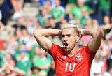"""""""Arsenal"""" pasitraukė iš derybų dėl naujo kontrakto, A.Ramsey reikalauja klubo vadovų pasiaiškinimo"""