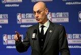 NBA krepšininkai pranešti apie taisykles laužančius žaidėjus skambino A.Silveriui