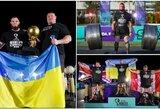 O.Novikovas atkėlė rekordinę 537,5 kg svorio štangą ir tapo naujuoju pasaulio galiūnų čempionu