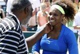 """S.Williams įspūdingai triumfavo """"Family Circuit Cup"""" moterų teniso turnyre JAV"""