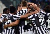 """""""Juventus"""" nukovė """"Napoli"""" ir sumažino atsilikimą nuo Italijos čempionato lyderio"""
