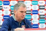 Serbai Vilniuje nesitiki siurprizų, bet laukia sunkesnių rungtynių