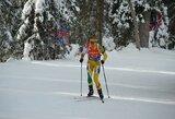 Maloniai nustebinusi N.Paulauskaitė pateko į pasaulio biatlono taurės persekiojimo lenktynes