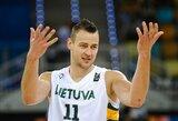 D.Motiejūnas atstovaus Lietuvos rinktinei Europos čempionate