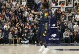 """""""Pacers"""" ir """"Warriors"""" krepšininkai – geriausi praėjusią savaitę"""
