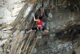 Neįtikėtina: 11-metė mergaitė - laipiojimo uolomis rekordų gerintoja