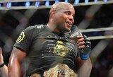 Dėl J.Joneso ir A.Gustafssono kovos, UFC planuoja atimti čempiono diržą iš D.Cormierio