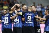 """""""Serie A"""" pirmenybių starte - įtikinamos """"Inter"""" ir """"AC Milan"""" klubų pergalės"""