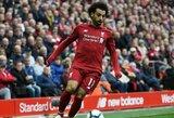 """Pergalę iškovoję """"Liverpool"""" futbolininkai užfiksavo klubo rekordą"""