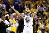 """K.Durantą praradusi """"Warriors"""" Vakarų pusfinalyje laimėjo trečią kartą"""