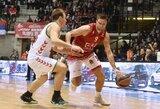 M.Kalniečio klubas neįveikė be lyderių žaidusios CSKA komandos