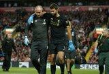 """""""Liverpool"""" vartų sargas Alissonas praleis UEFA Supertaurės mūšį su """"Chelsea"""""""