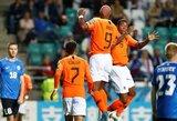 EURO2020 atranka: Olandija ir Belgija šventė triuškinamas pergales, Vokietija susitvarkė su Šiaurės Airija