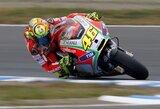 """V.Rossi: """"Ducati"""" vis dar atsilieka"""""""
