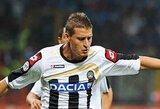 """""""Udinese"""" pratęsė sutartį su gynėju A.Coda"""