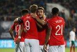 EURO2020: įvarčiais sprogusi Anglija sutraiškė bulgarus