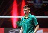 Principinę dvikovą laimėjęs P.Bartušis triumfavo tarptautiniame badmintono turnyre Druskininkuose