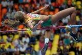 Tarptautinėse varžybose A.Palšytė pakartojo Lietuvos rekordą ir iškovojo medalį