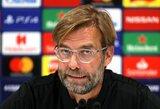 """J.Kloppas išreiškė pasitikėjimą M.Salah: """"Jis žino, kad gali žaisti geriau nei tai padarė prieš """"Man United"""", tačiau dėl to nesijaudinu"""""""