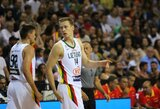 Lietuvos rinktinės stovyklą paliko trys krepšininkai