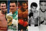 Top 30: geriausi visų laikų sunkiasvoriai boksininkai