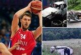 Į šiurpią avariją patekusio O.Kuzmičiaus savijauta geresnė, tačiau į komą panirusiam serbui bus atliekama operacija