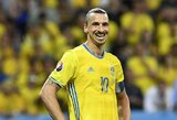 """Z.Ibrahimovičius: """"Aš įveikiau pasaulį, dabar Švedija įveiks visą pasaulį"""""""