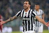 """Turino miesto derbyje triumfavo """"Juventus"""""""