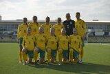 Lietuvos moterų futbolo rinktinė su Farerų salomis sužaidė lygiosiomis