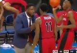 LaVaro krepšinio lygoje – prieš savo auklėtinį smurtavęs treneris