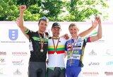 Dviračių lenktynėse Belgijoje – A.Kruopio triumfas