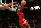 Istoriniai vaizdai: gražiausi NBA dėjimų konkursų epizodai