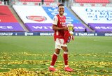 """M.Arteta viliasi, jog P.E.Aubameyangas priims iššūkį tapti """"Arsenal"""" legenda"""