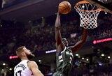"""""""Pistons"""" ir """"Bucks"""" apsikeitė daug žadėjusiais krepšininkais"""