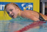 Pasaulio taurės etape Maskvoje R.Meilutytė pateko į dar dviejų rungčių finalus (papildyta)