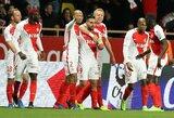 """""""Ligue 1"""" lyderių mūšyje """"Monaco"""" pranoko """"Nice"""" klubą ir įsirašė puikų pasiekimą"""